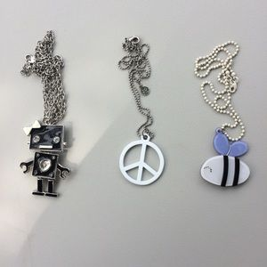 Jewelry - 3 CHARACTER NECKLACES